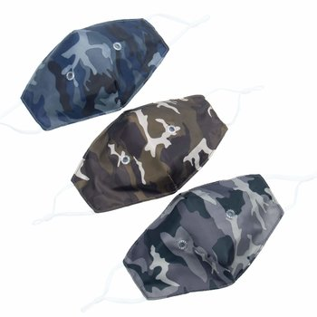 LUG BEAKER 2 FACE MASK 3PK CAMO DARK SET