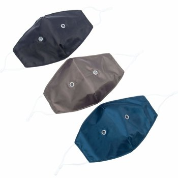 LUG BEAKER 2 FACE MASK 3PK DARK SOLIDS SET