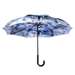 GALLERIA STICK UMBRELLA REVERSE CLOSE