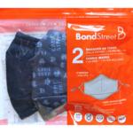 BOND STREET KIDS WASHABLE FACE MASKS 2PK WITH 1FILTER (TAC5114 BSB-NAVY/GAMER)