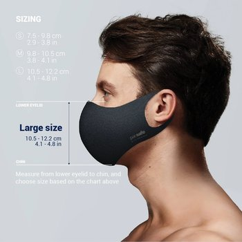 PACSAFE VIRALOFF REUSABLE FACE MASK (1016 LARGE