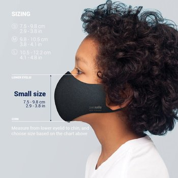 PACSAFE VIRALOFF REUSABLE FACE MASK (1016 SMALL