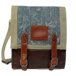 LICENCE 71195 JUMPER CANVAS MV MESSENGER BAG (LBF10760)