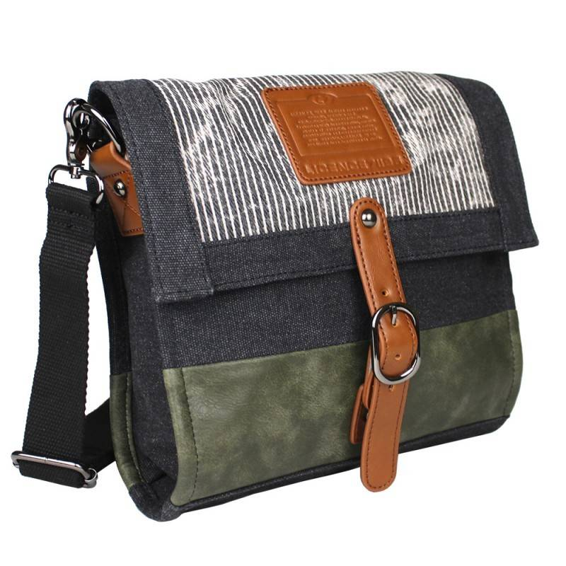 26f56cc392 LICENCE 71195 Jumper Canvas Medium Shoulder Bag (LBF10871) - Urban ...