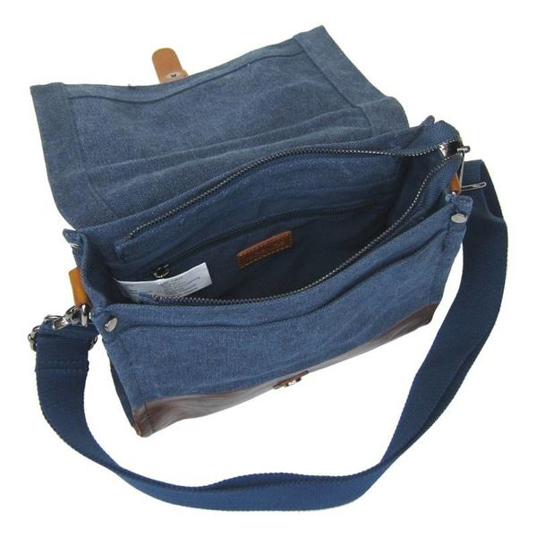 LICENCE 71195 JUMPER CANVAS MEDIUM SHOULDER BAG (LBF10871)