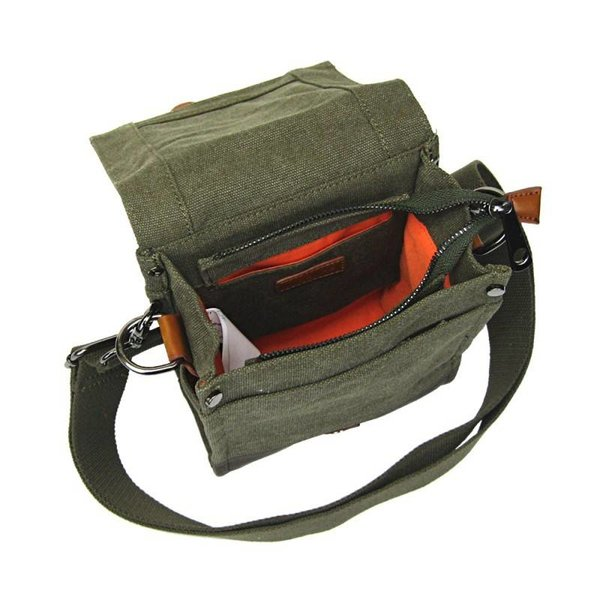 LICENCE 71195 JUMPER CANVAS SV SHOULDER BAG (LBF10761)