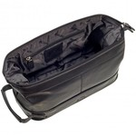 MANCINI BUFFALO LEATHER CLASSIC TOILETRY KIT (99-54200