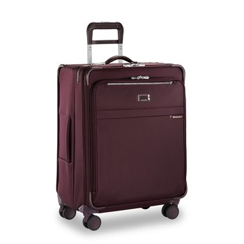 BRIGGS & RILEY BASELINE PLUM MEDIUM EXPANDABLE SPINNER (U125CXSP-64)