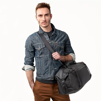 BRIGGS & RILEY ZDX CARGO SATCHEL, BLACK (ZX160-4)
