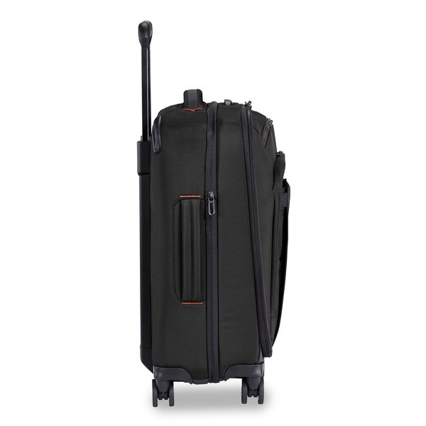 """BRIGGS & RILEY ZDX 21"""" CARRY-ON EXPANDABLE SPINNER, BLACK (ZXU121SPX-4)"""