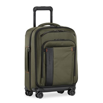 """BRIGGS & RILEY ZDX 21"""" CARRY-ON EXPANDABLE SPINNER, HUNTER GREEN (ZXU121SPX-23)"""