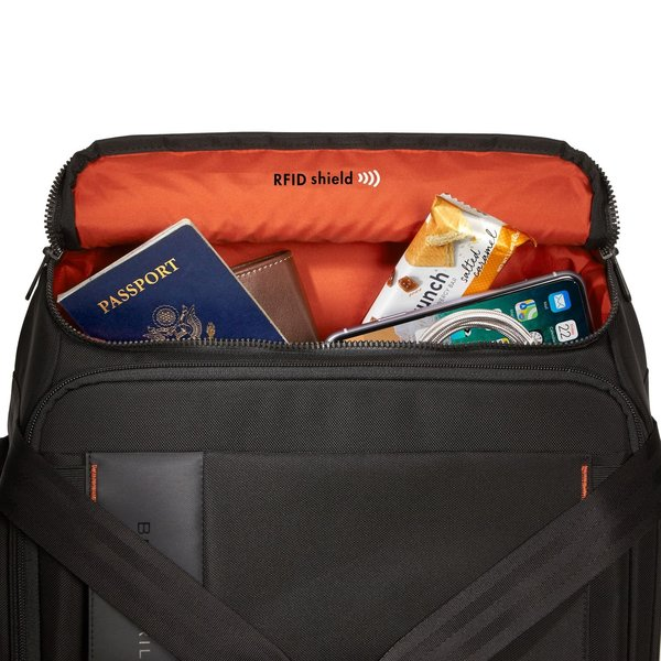 """BRIGGS & RILEY ZDX 21"""" CARRY-ON UPRIGHT DUFFLE, BLACK (ZXUWD121-4)"""