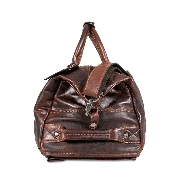 Jack Georges VOYAGER WHEELED DUFFLE BAG BROWN 7520