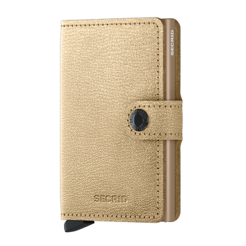 SECRID LTD MINIWALLET ANTIQUE GOLD (MAq-GOLD)