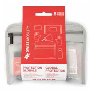 SWISS MOBILITY GLOBAL PROTECTION 6PIECE SANITARY KIT (TAC1151SM)