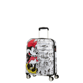 AMERICAN TOURISTER DISNEY WAVEBREAKER CARRY-ON (85667) MINNIE COMICS WHITE