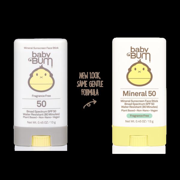 SUN BUM BABY BUM SPF 50  SUNSCREEN FACE STICK (35-55050)
