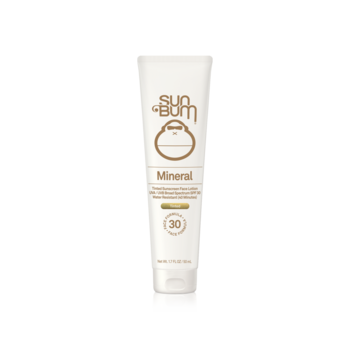 SUN BUM MINERAL SPF 30 TINTED SUNSCREEN FACE LOTION 1.7oz (25-62330)