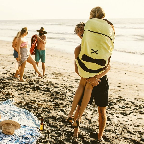 SUN BUM BEACH TOWEL - SONNY YELLOW (40-30060)