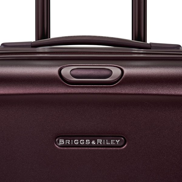 BRIGGS & RILEY SYMPATICO 2.0 INT'L CARRY-ON EXP SPINNER (SU221CXSP -64) MATTE PLUM