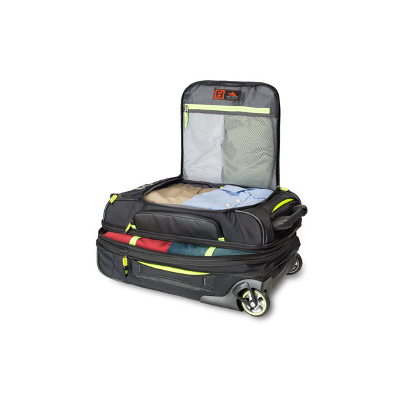 HIGH SIERRA AT-8 CARRY-ON WHEELED DUFFLE UPRIGHT (67925-4491)