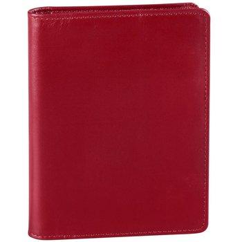 DEREK ALEXANDER PASSPORT WALLET AZ450 RED