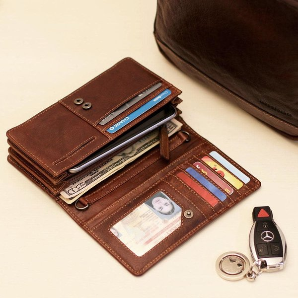 Jack Georges VOYAGER CONTINENTAL WALLET (7722)
