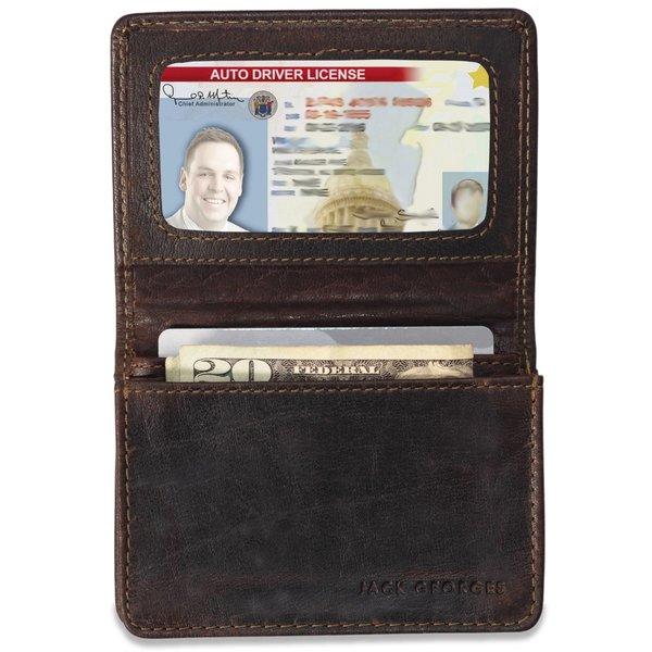 Jack Georges VOYAGER BUSINESS CARD HOLDER (7306)