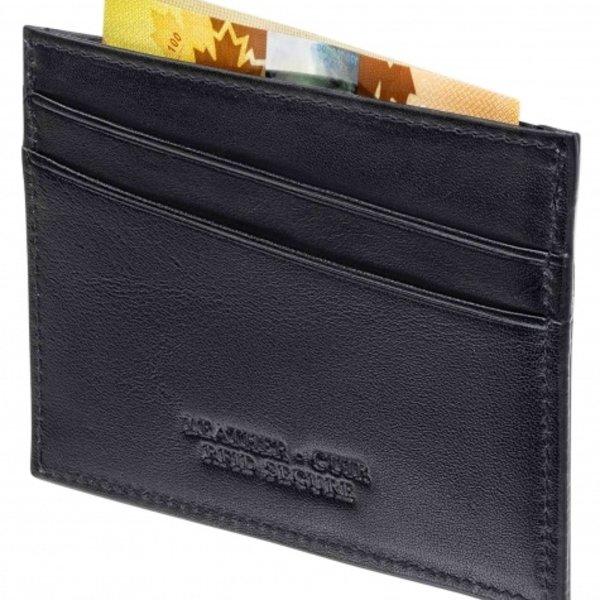 MANCINI CREDIT CARD CASE 95-6111 BLACK