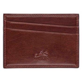 MANCINI CREDIT CARD CASE 95-6111 BROWN