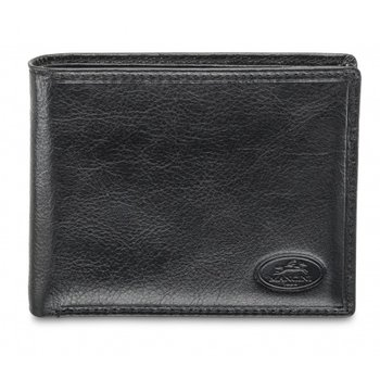 MANCINI MEN'S BILLFOLD WITH REMOVABLE PASSCASE (52953) BLACK
