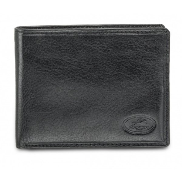 MANCINI MEN'S BILLFOLD WITH REMOVABLE PASSCASE (52954) BLACK
