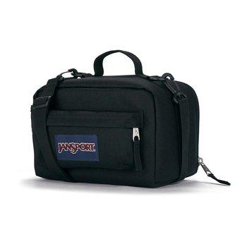JANSPORT THE CARRYOUT LUNCH BAG, BLACK (JS0A4NVG)
