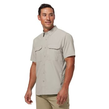 ROYAL ROBBINS GLOBAL EXPEDITION II SOAPSTONE  S/S  (Y421018)