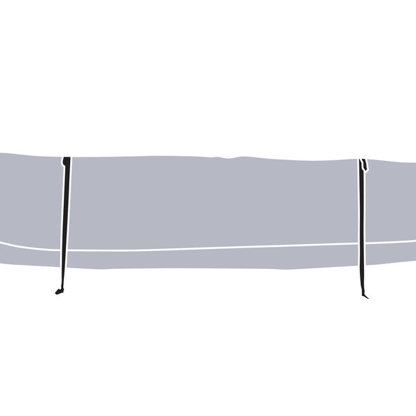 THULE THULE ANNEX EXTENSION FOR 3 -PERSON TENTS HAZE GREY