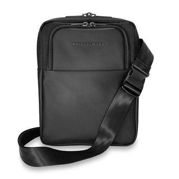 BRIGGS & RILEY DELVE VERTICAL CROSSBODY BAG, BLACK (DV110-4)