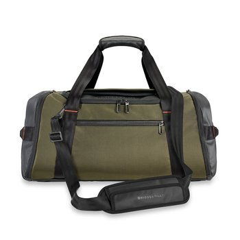 BRIGGS & RILEY ZDX LARGE TRAVEL DUFFLE, HUNTER GREEN (ZXD175-23)