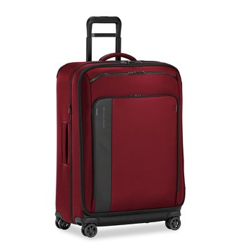 """BRIGGS & RILEY ZDX 29"""" LARGE EXPANDABLE SPINNER, BRICK RED (ZXU129SPX-69)"""