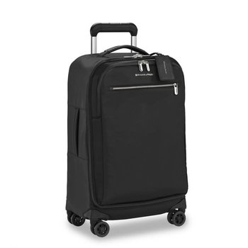 BRIGGS & RILEY WOMEN'S TALL CARRY-ON SPINNER (PU122SP) BLACK