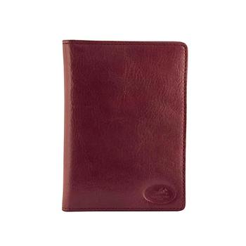 MANCINI RFID PASSPORT WALLET DARK WINE (52171)
