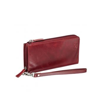 MANCINI CASABLANCA LADIES RFID TRIFOLD CLUTCH WALLET (8700374)