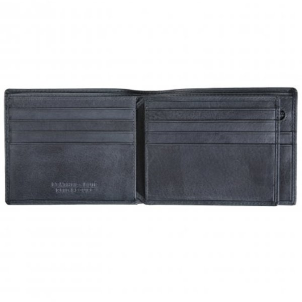 MANCINI BELLAGIO CENTRE WING RFID WALLET W/ COIN ZIP (2020183)