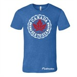 STONE AGE CANADA ORIGINAL TEE, ROYAL HEATHER