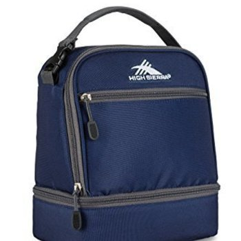HIGH SIERRA STACKED COMPARTMENT LUNCH BAG (74714)