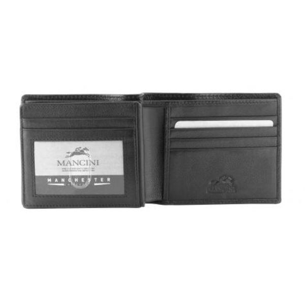 MANCINI RFID SLIM BILLFOLD W/ MIDDLE WING (2010100)