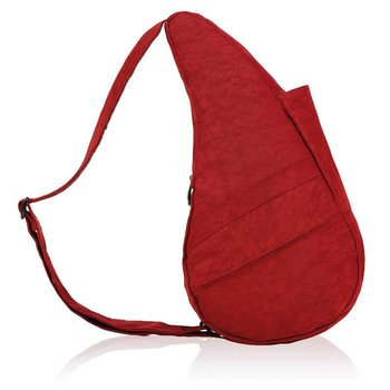 AMERIBAG SMALL DISTRESSED NYLON HEALTHY BACK BAG (6103)
