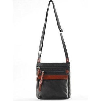 OSGOODE MARLEY MEDIUM LEATHER CROSSBODY, STORM BLACK (7109)