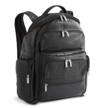 MOSAIC DAYTREKR LEATHER LTD. BACKPACK, BLACK (771-2508-BK)