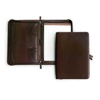 OSGOODE MARLEY LEATHER ZIP FILE FOLIO (1810)