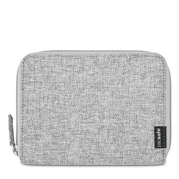 PACSAFE RFIDSAFE LX250 ZIPPERED TRAVEL WALLET